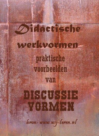 Werkvormen - Discussie