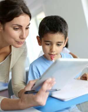 Kleuters en iPads