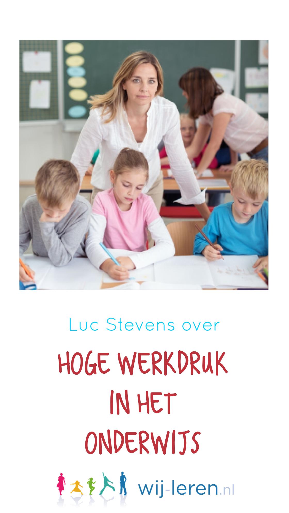 Werkdruk onderwijs
