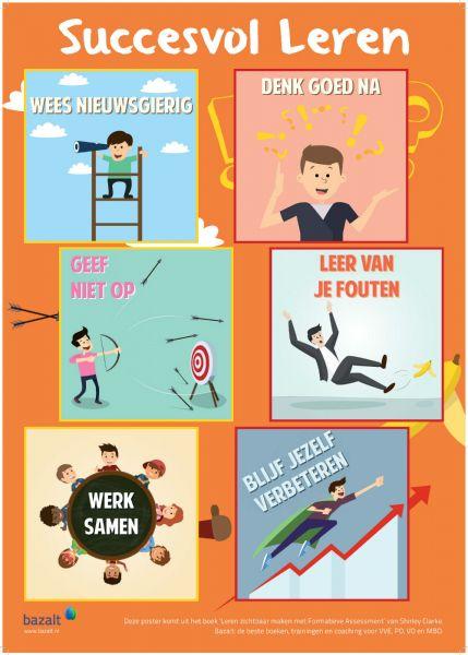 Poster formatieve assessment - Succesvol leren