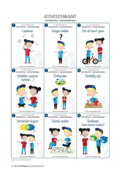 Activiteitenkaart Leerdetective - De leeruitdaging voor jonge kinderen