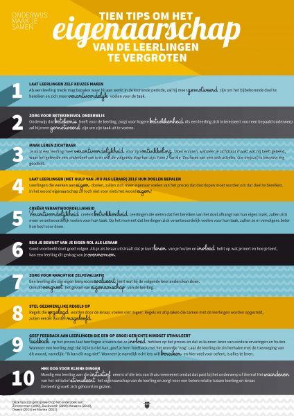 Tien Tips om het eigenaarschap van de leerlingen te vergroten