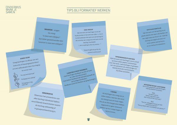 Tien Tips bij formatief werken