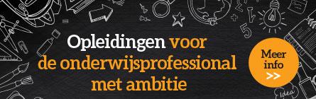 Opleidingen voor onderwijsprofessional met ambitie