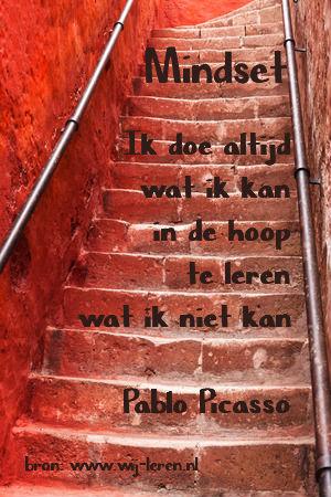 Mindset - Pablo Picasso