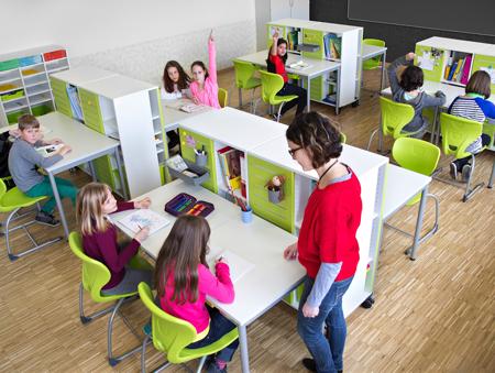 Technisch meubilair passende inrichting bevordert for Meubilair basisonderwijs