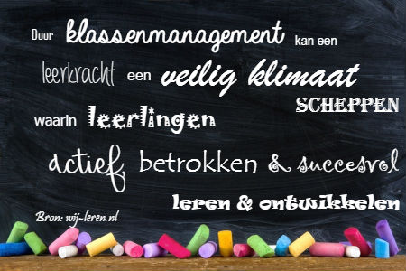 Basisartikel over goed klassenmanagement