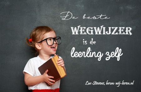 Luc Stevens over de rol van de leerling