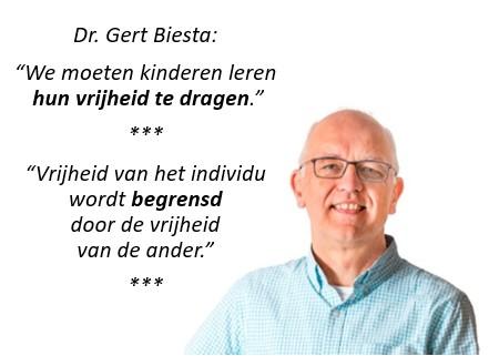Gert Biesta vrijheid en autonomie