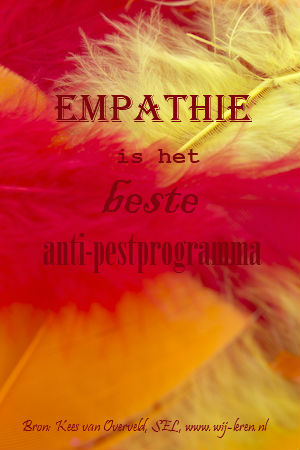 Empathie is het beste antipestprogramma - Kees van Overveld - SEL - Sociaal emotioneel leren als basis